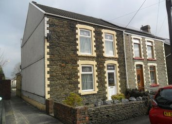 Thumbnail 3 bed semi-detached house for sale in Francis Street, Pontardawe, Swansea.