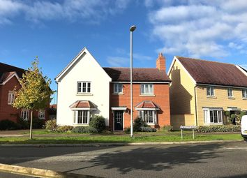 Thumbnail 4 bed detached house for sale in Burgattes Road, Little Canfield, Dunmow