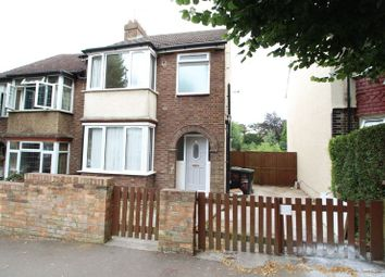 Thumbnail 4 bed semi-detached house to rent in Hillborough Road, Luton