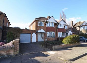 Thumbnail 3 bed semi-detached house for sale in Kingscliffe Crescent, Leicester
