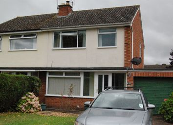 Thumbnail 3 bed semi-detached house for sale in Meadow Drive, Credenhill, Hereford