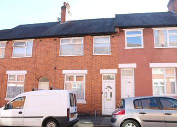 Thumbnail 3 bedroom terraced house for sale in Vernon Street, Leicester