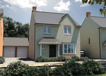 "Thumbnail 4 bed detached house for sale in ""The Tattershall"" at North End Road, Yatton, Bristol"