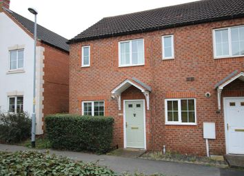 Thumbnail 2 bed town house for sale in Madden Close, Lincoln
