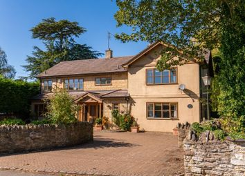 Thumbnail 5 bed detached house for sale in Leckhampstead Road, Wicken, Milton Keynes