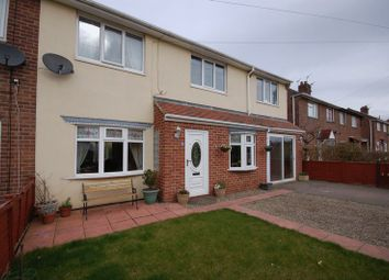 Thumbnail 3 bed semi-detached house for sale in Glebe Villas, Forest Hall, Newcastle Upon Tyne