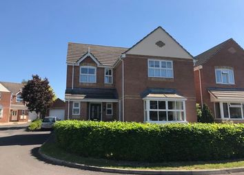Thumbnail 4 bed detached house for sale in Simmons Close, Street