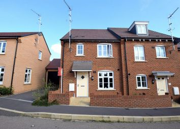 Thumbnail 3 bedroom semi-detached house for sale in Chaundler Drive, Aylesbury