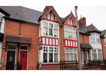 Thumbnail 3 bed terraced house for sale in Church Avenue, Leicester