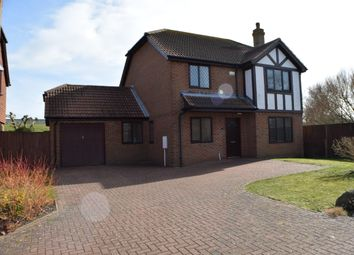 Thumbnail 4 bed detached house to rent in Charles Cobb Close, Dymchurch
