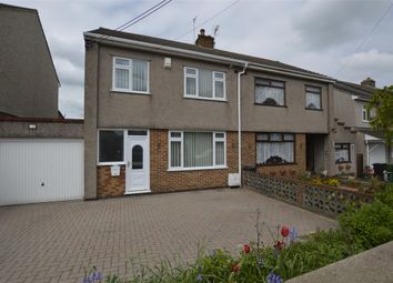 Thumbnail 3 bed semi-detached house for sale in Station Road, Winterbourne Down, Bristol