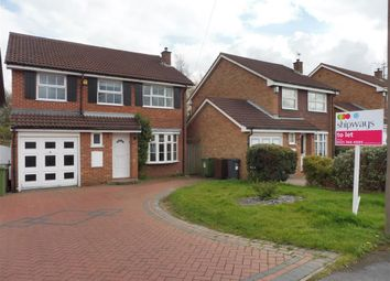 Thumbnail 4 bed detached house to rent in Harnall Close, Shirley, Solihull