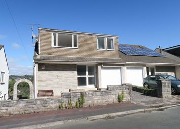 Thumbnail 5 bed semi-detached house for sale in Hill Close, Plympton, Plymotuh, Devon