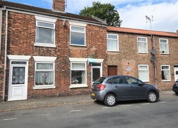 Thumbnail 2 bedroom terraced house to rent in Hailgate, Howden, Goole