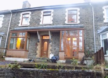 Thumbnail 4 bedroom terraced house for sale in Clytha Crescent, Old Blaina Road, Abertillery.