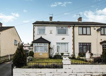 Thumbnail 3 bed semi-detached house for sale in Broadstone Way, Holmewood, Bradford