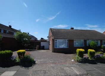 Thumbnail 2 bed semi-detached bungalow for sale in Hayes Walk, Wideopen, Newcastle Upon Tyne