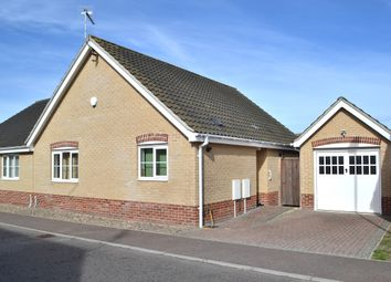 Thumbnail 2 bedroom semi-detached bungalow for sale in Badger Close, Harleston, Norfolk