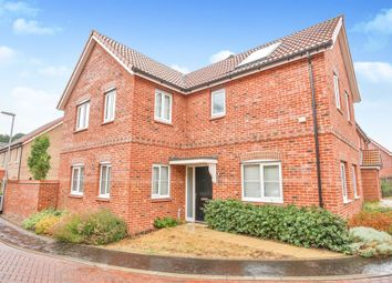 Thumbnail 4 bed detached house for sale in Evora Road, Wymondham