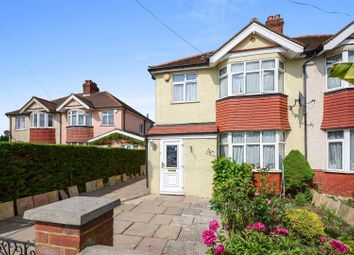 Thumbnail 3 bedroom semi-detached house for sale in Chessington Road, West Ewell, Epsom