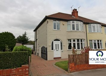 Thumbnail 3 bed semi-detached house for sale in Street Lane, Moortown, Leeds