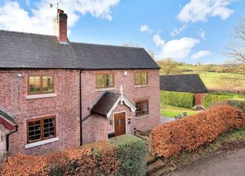 Thumbnail 3 bed end terrace house for sale in Clifton, Ashbourne, Derbyshire