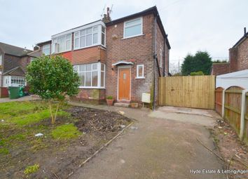 Thumbnail 3 bed semi-detached house to rent in Windsor Crescent, Prestwich, Manchester