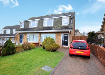 Thumbnail 3 bed semi-detached house for sale in Eastway, Eastfield, Scarborough