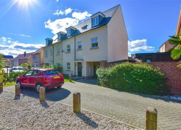 Thumbnail 3 bed town house for sale in Richard Day Walk, Colchester, Essex