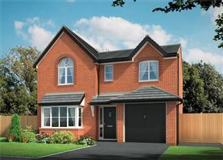 Thumbnail 4 bedroom detached house for sale in Sandy Lane, Cottam, Preston