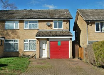 Thumbnail 3 bed semi-detached house for sale in Talavera Close, Cherry Orchard, Daventry