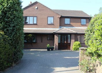 Thumbnail 5 bed detached house for sale in Draycott Road, Tean, Stoke-On-Trent
