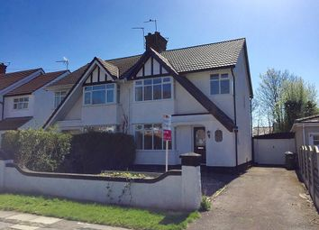 Thumbnail 3 bed semi-detached house to rent in Manor Road, Eastham, Wirral