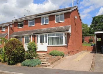 Thumbnail 2 bed semi-detached house to rent in Jordan Way, Stone