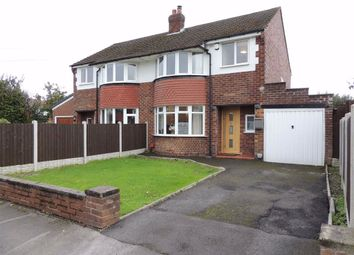 Thumbnail 3 bed semi-detached house for sale in Dovedale Road, Offerton, Stockport