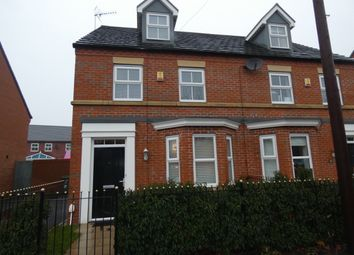 Thumbnail 3 bed town house for sale in Westminster Road, Kirkdale, Liverpool