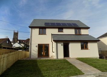 Thumbnail 3 bed detached house to rent in Exeter Road, Winkleigh