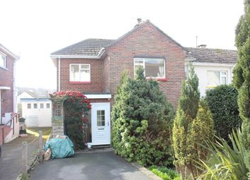 Thumbnail 3 bed semi-detached house for sale in Haccombe Path, Newton Abbot