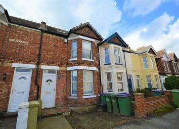 Thumbnail 3 bed terraced house for sale in Dunnett Road, Cheriton, Folkestone