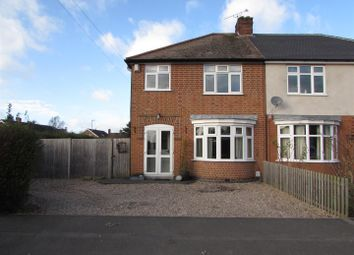 Thumbnail 3 bed semi-detached house for sale in Chaucer Street, Narborough, Leicester