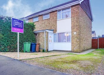 Thumbnail 3 bed semi-detached house for sale in Stonald Road, Peterborough
