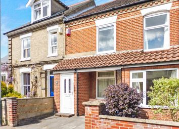 Thumbnail 2 bedroom terraced house for sale in Melrose Road, Norwich