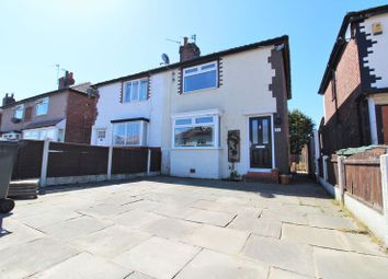 Thumbnail 2 bed semi-detached house for sale in Roselea Drive, Crossens, Southport