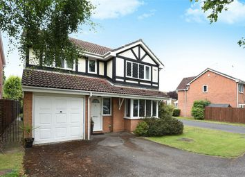 Thumbnail 4 bed detached house for sale in Charlton Close, Wokingham, Berkshire