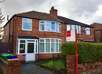 Thumbnail 3 bed semi-detached house to rent in Parsonage Road, Withington