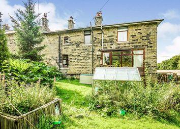 Thumbnail 2 bed end terrace house for sale in Holme Villas, School Lane, Marsden, Huddersfield