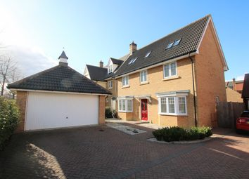 Thumbnail 5 bed detached house to rent in Woodlands Walk, Dunmow