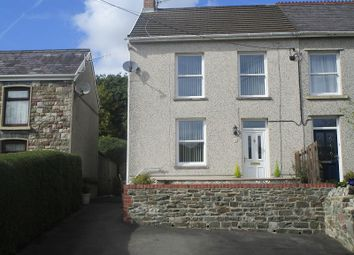 Thumbnail 3 bedroom semi-detached house for sale in Heol Tawe, Abercrave, Swansea, City And County Of Swansea.