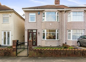 Thumbnail 3 bed end terrace house for sale in Ilchester Crescent, Bristol