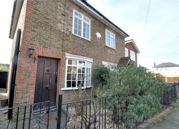 Thumbnail 2 bed semi-detached house for sale in Mead Lane, Chertsey, Surrey